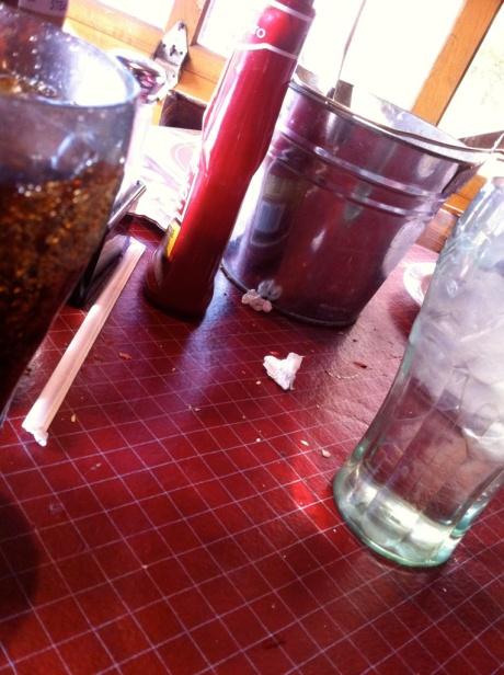 straw heart